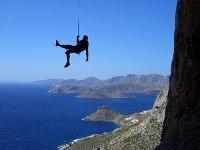 Abseilen in Kalymnos