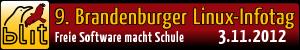 Banner des Brandenburger Linux-Infotages