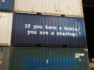 Slogan: If you are a brain, you are a startup