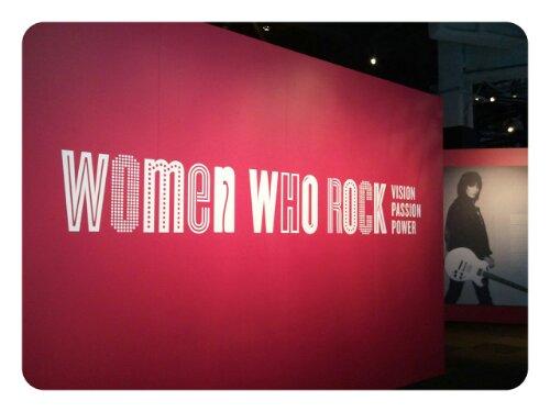 EMP Museum: Ausstellung Women who rock