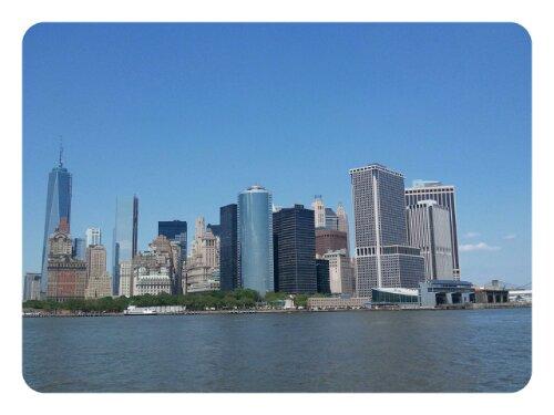Skyline Manhattan von Süden aus